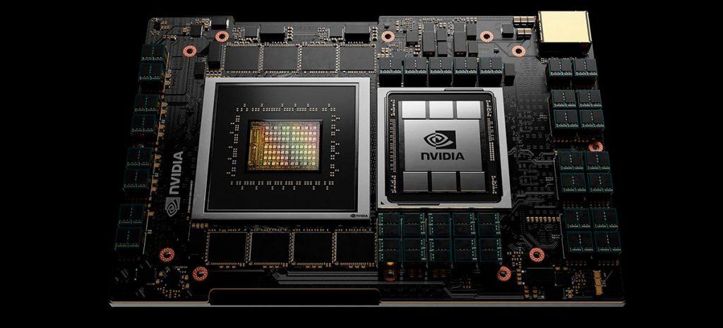 Il CEO di Intel interagisce con la CPU Grace di NVIDIA