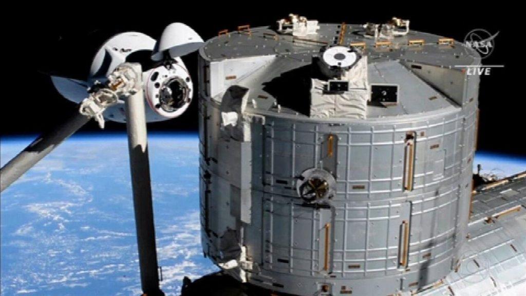 Gli astronauti della NASA arrivano alla Stazione Spaziale Internazionale a bordo della navicella SpaceX |  La Gazzetta Nazionale
