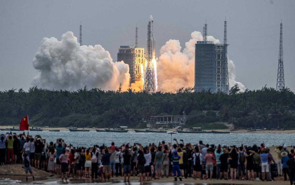 La Cina lancia la prima unità della sua futura stazione spaziale    Scienza e salute