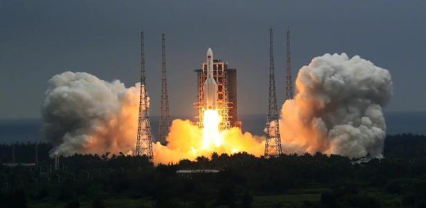 La Cina lancia un'unità da 24 tonnellate per costruire una stazione spaziale