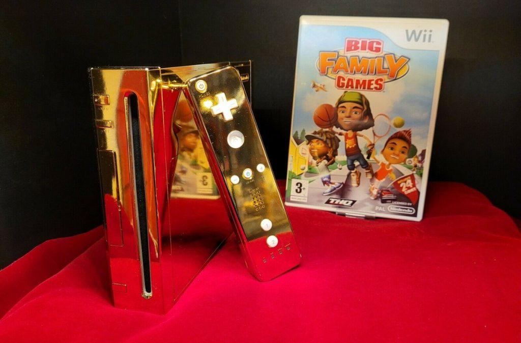 Nintendo Wii Made for Elizabeth II è stato messo in vendita per $ 300K    Video gioco