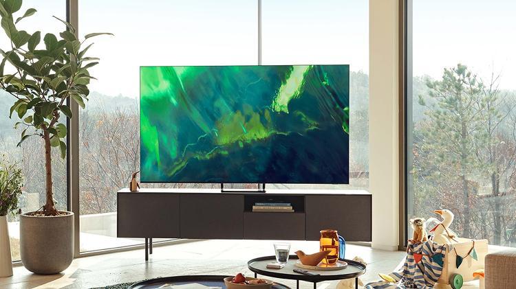 TV Samsung QLED Q70A - Divulgazione - Divulgazione