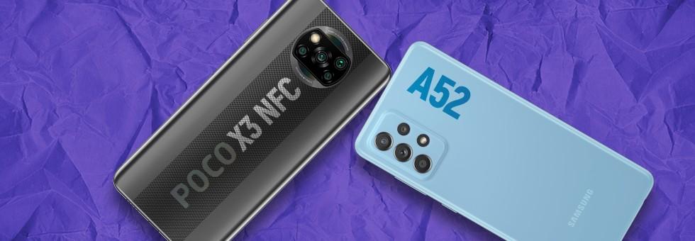Galaxy A52 vs Poco X3 NFC: la tela a 120Hz che conta davvero?     Confronto