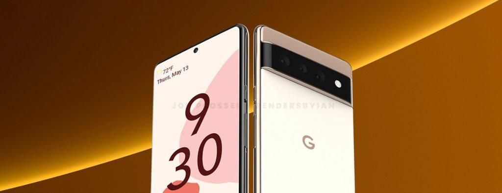 La perdita mostra il presunto telefono Google Pixel 6 con un design audace che differisce dal tradizionale