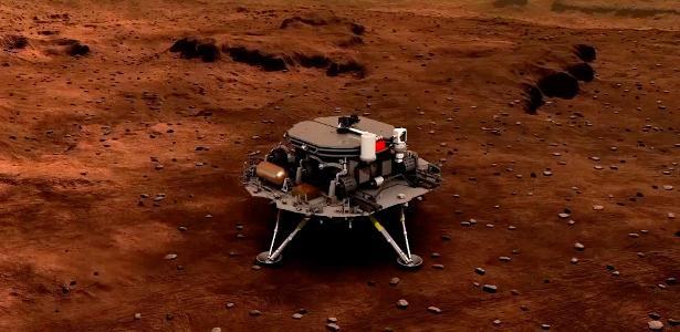 La Cina entra nella storia e diventa il terzo paese a far atterrare un robot su Marte - 15/05/2021