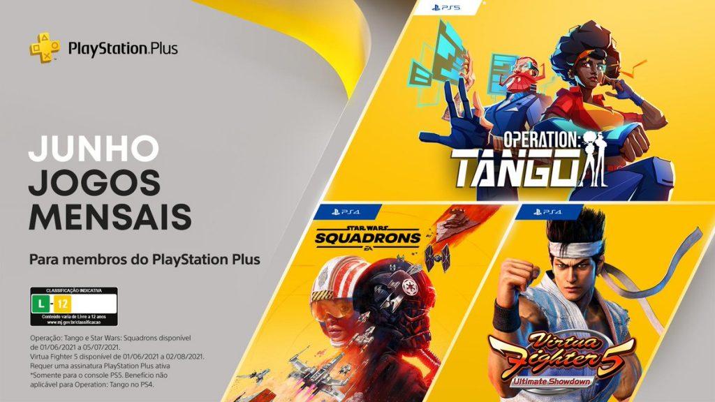 Gli abbonati a PS Plus riceveranno l'operazione: Tango, Virtua Fighter 5 e Star Wars: Squadrons a giugno 2021.