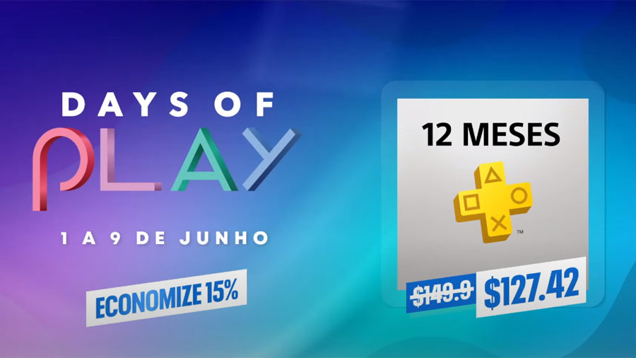 Days of Play PS Plus