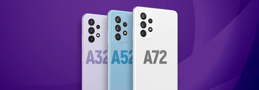Galaxy A32, A32 5G, A52, A52 5G o A72: qual è il miglior broker Samsung?  |  Confronto