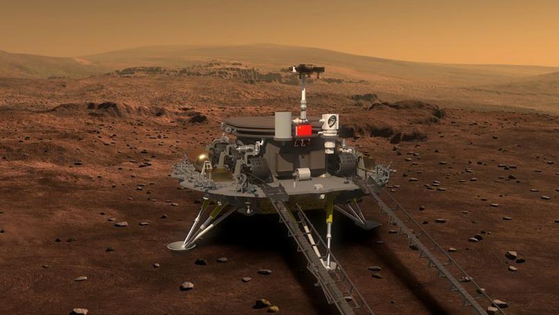 Tianwen-1 è atterrato su Marte