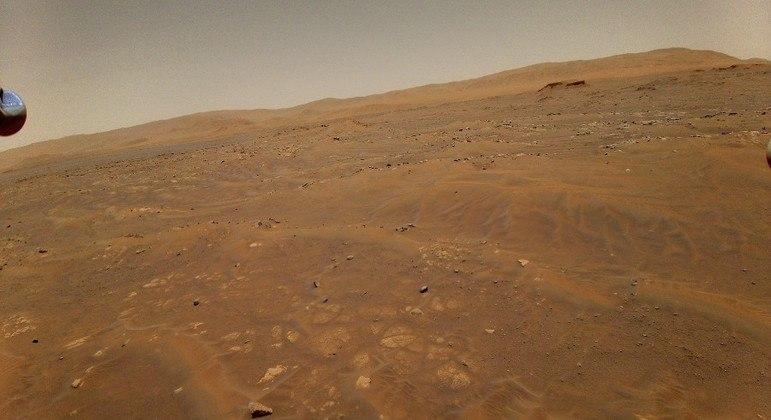 L'ingegnoso elicottero incontra problemi durante il sesto volo su Marte
