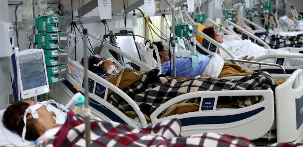 Il sovraffollamento nelle unità di terapia intensiva all'interno di SP sta raggiungendo i momenti peggiori dell'epidemia