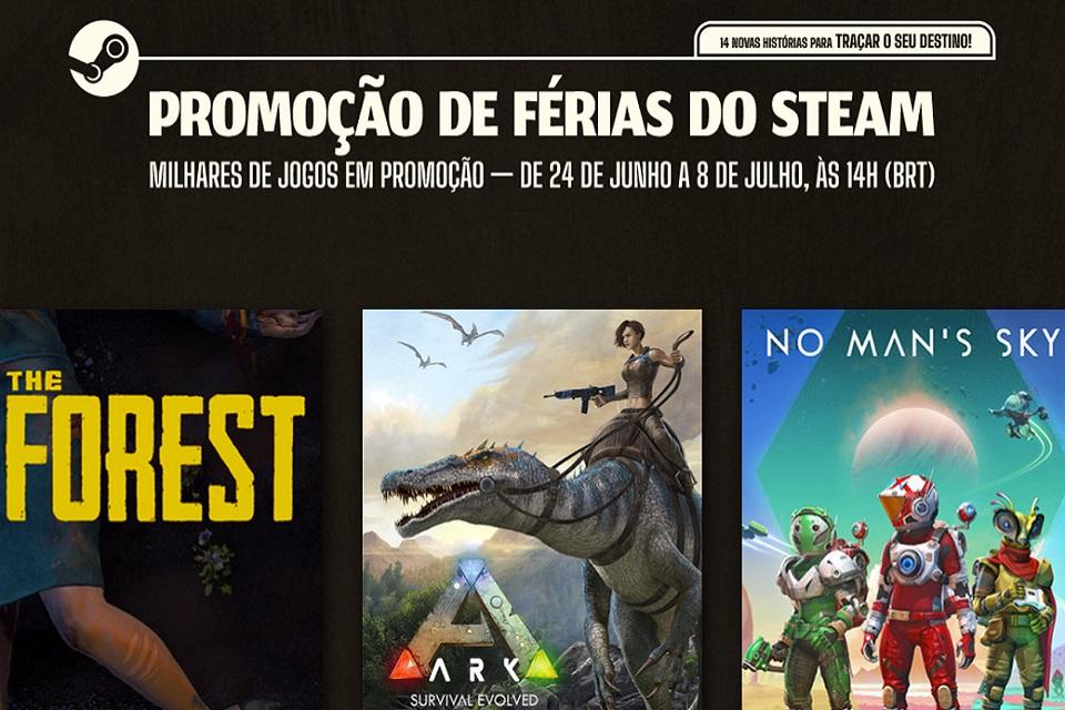 Imagem de: Promoção de Verão da Steam: confira as melhores ofertas!
