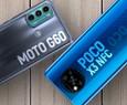Moto G60 vs Poco X3 NFC: quale telefono è meglio con uno schermo a 120Hz?  |  Confronto