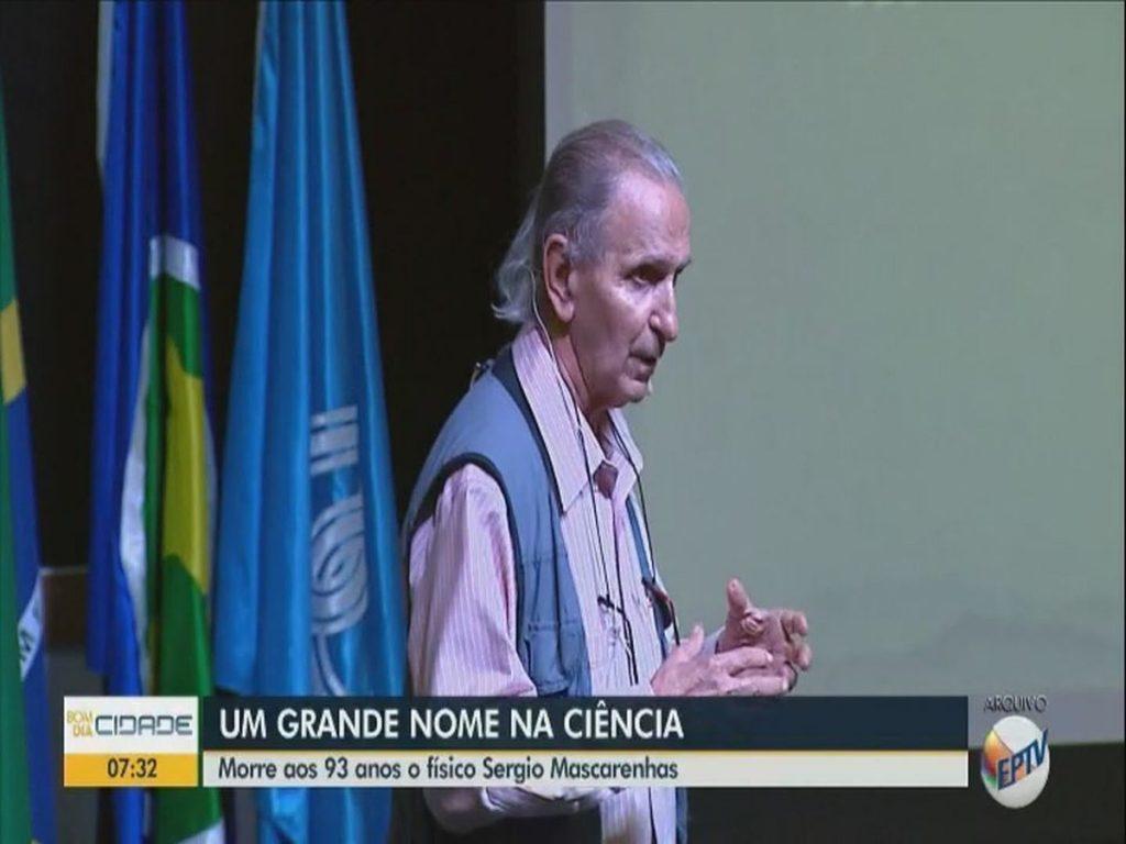 Morto il fisico Sergio Mascarenas, fondatore di UFSCar e Embraba de São Carlos    Sao Carlos e Araraquara