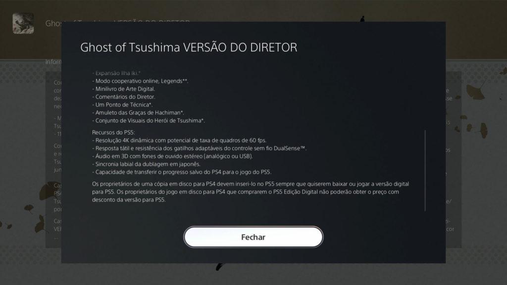 La versione Ghost del regista Tsushima