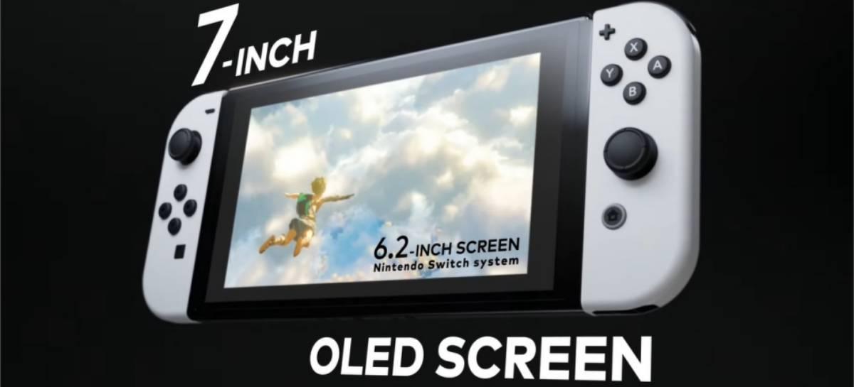 Nintendo annuncia il nuovo Nintendo Switch con schermo OLED