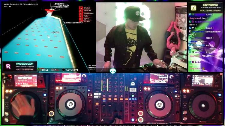 DJ su Twitch - Riproduci / Twitch - Riproduci / Twitch