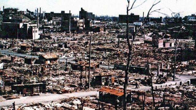 Hiroshima è stata distrutta dopo la bomba atomica