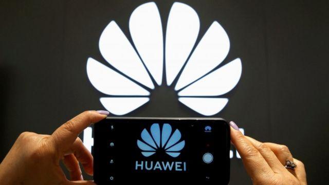 Logo e numero di telefono Huawei